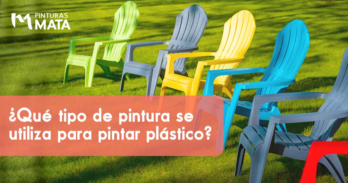 pintura plastico